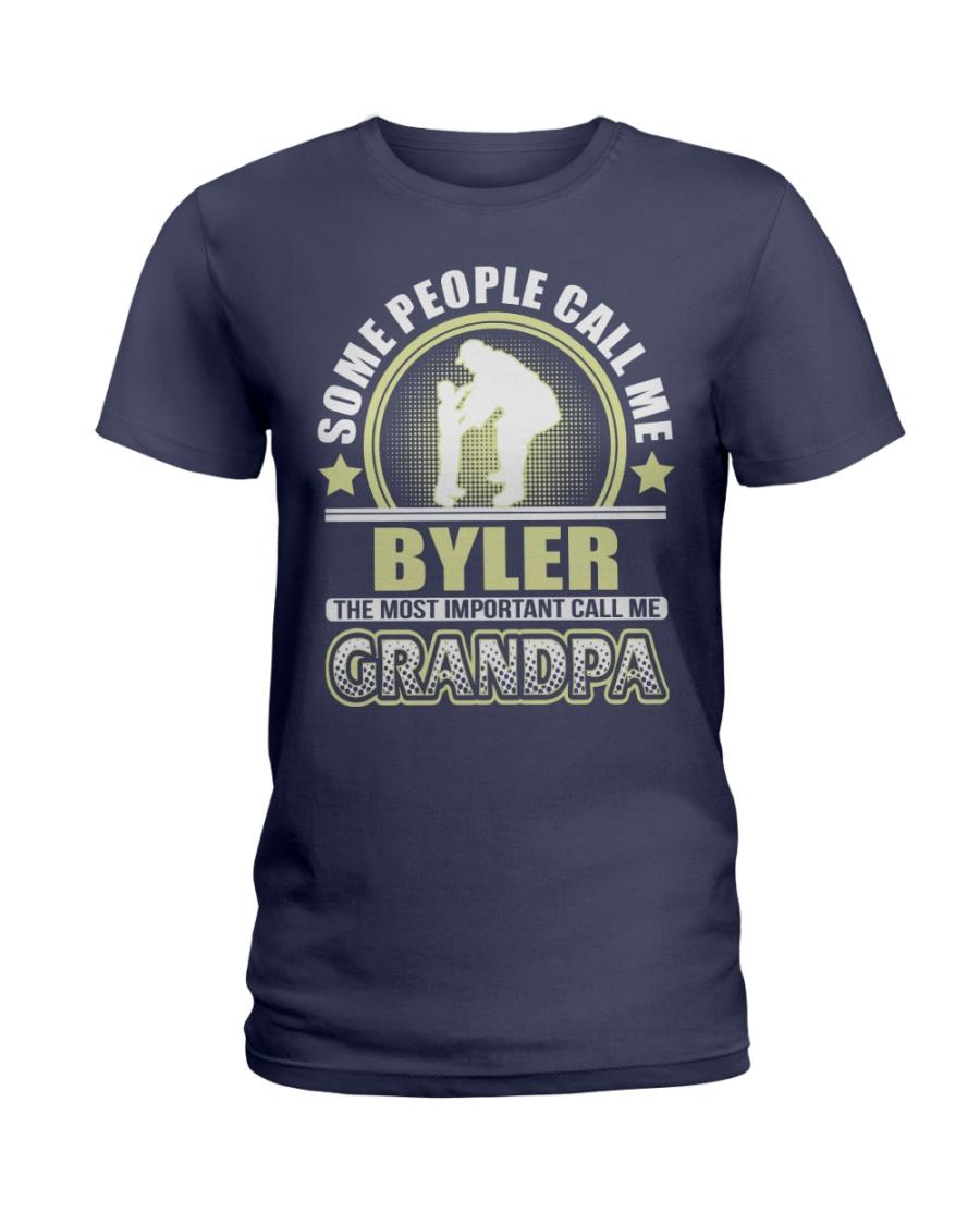 CALL ME BYLER GRANDPA THING SHIRTS Ladies T-Shirt