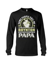 CALL ME BOYNTON PAPA THING SHIRTS Long Sleeve Tee thumbnail