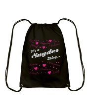 SNYDER FULL HEART THING SHIRTS Drawstring Bag thumbnail