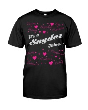 SNYDER FULL HEART THING SHIRTS Classic T-Shirt thumbnail