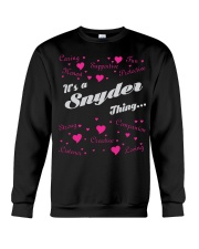 SNYDER FULL HEART THING SHIRTS Crewneck Sweatshirt thumbnail