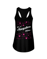SNYDER FULL HEART THING SHIRTS Ladies Flowy Tank thumbnail