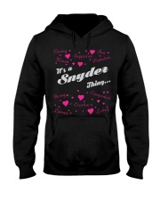 SNYDER FULL HEART THING SHIRTS Hooded Sweatshirt thumbnail