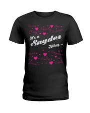 SNYDER FULL HEART THING SHIRTS Ladies T-Shirt thumbnail