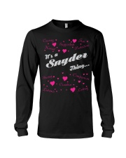 SNYDER FULL HEART THING SHIRTS Long Sleeve Tee thumbnail