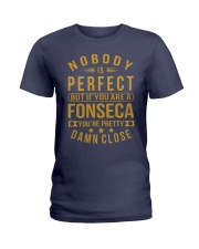 NOBODY PERFECT FONSECA NAME SHIRTS Ladies T-Shirt front