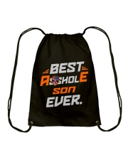 BEST ASSHOLE SON EVER NAME SHIRTS Drawstring Bag thumbnail
