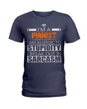 PIANIST SARCASM JOB TSHIRTS Ladies T-Shirt front
