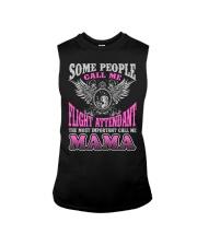 CALL ME FLIGHT ATTENDANT MAMA JOB SHIRTS Sleeveless Tee thumbnail