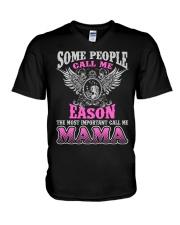 CALL ME EASON MAMA THING SHIRTS V-Neck T-Shirt thumbnail