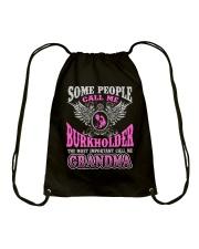 CALL ME BURKHOLDER GRANDMA THING SHIRTS Drawstring Bag thumbnail