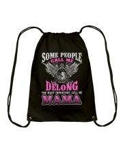 CALL ME DELONG MAMA THING SHIRTS Drawstring Bag thumbnail