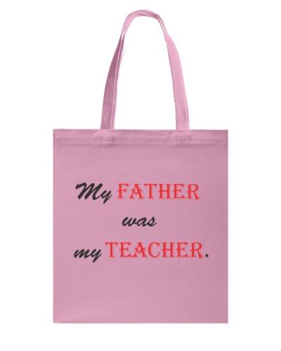 My Father was my Teacher