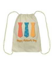 Happy Father's Day  Drawstring Bag thumbnail