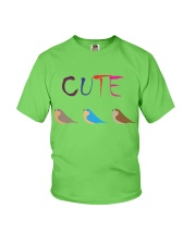 Cute Bird Youth T-Shirt front
