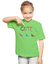 Cute Bird Youth T-Shirt lifestyle-youth-tshirt-front-2
