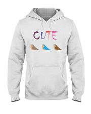 Cute Bird Hooded Sweatshirt thumbnail