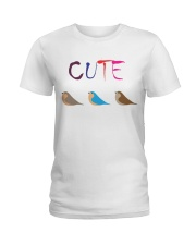 Cute Bird Ladies T-Shirt thumbnail