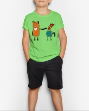 Bird Cock  Youth T-Shirt lifestyle-youth-tshirt-front-1