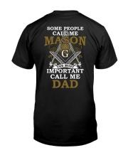 Freemasonry T-shirt The Most Important Call Me Dad Classic T-Shirt thumbnail