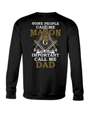 Freemasonry T-shirt The Most Important Call Me Dad Crewneck Sweatshirt thumbnail