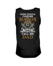 Freemasonry T-shirt The Most Important Call Me Dad Unisex Tank thumbnail