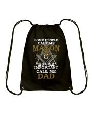 Freemasonry T-shirt The Most Important Call Me Dad Drawstring Bag thumbnail