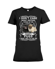 Pug T-shirt Want They To Like Me Premium Fit Ladies Tee thumbnail