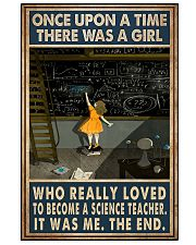 Science Teacher 16x24 Poster front