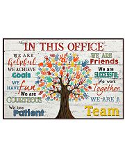 In This Office 24x16 Poster front