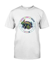 Peace love Classic T-Shirt front