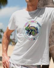 Peace love Classic T-Shirt lifestyle-mens-crewneck-front-11