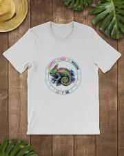 Peace love Classic T-Shirt lifestyle-mens-crewneck-front-18