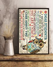 Dear Students Poster 16x24 Poster lifestyle-poster-3