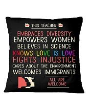 This Teacher Square Pillowcase front