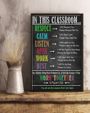 In This Classroom 16x24 Poster lifestyle-poster-3