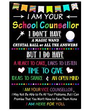 School Counsellor 1 16x24 Poster front