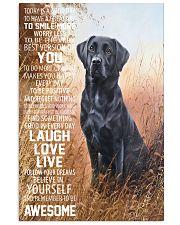 Labrador retriever 16x24 Poster front