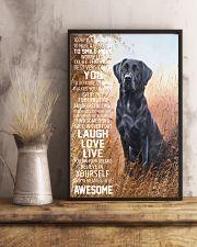 Labrador retriever 16x24 Poster lifestyle-poster-3