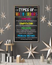 Types of Math Errors 16x24 Poster lifestyle-holiday-poster-1