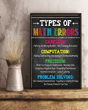 Types of Math Errors 16x24 Poster lifestyle-poster-3