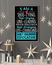 Early Childhood Educator 16x24 Poster lifestyle-holiday-poster-1