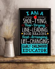 Early Childhood Educator 16x24 Poster lifestyle-poster-3
