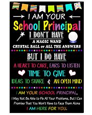 I Am Your School Principal 16x24 Poster front