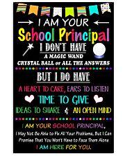 I Am Your School Principal Vertical Poster tile