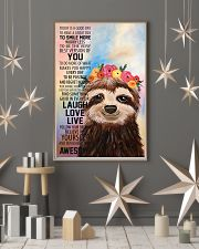 Sloth 16x24 Poster lifestyle-holiday-poster-1