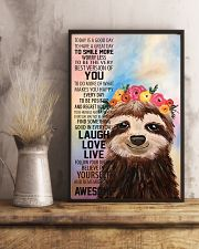 Sloth 16x24 Poster lifestyle-poster-3