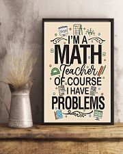 Teacher Math 16x24 Poster lifestyle-poster-3