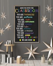 Classroom 16x24 Poster lifestyle-holiday-poster-1