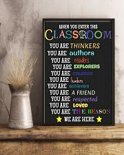 Classroom 16x24 Poster lifestyle-poster-3